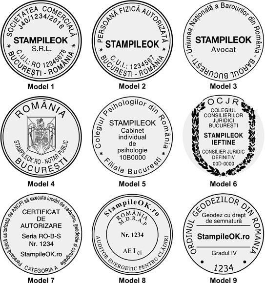 stampile-rotunde-amprente-r40mm