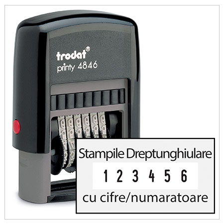Stampile cu cifre / numaratoare