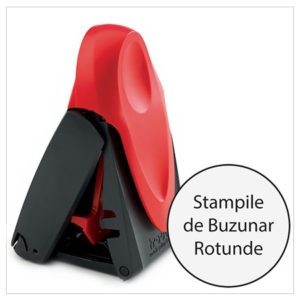 Stampile de Buzunar Rotunde