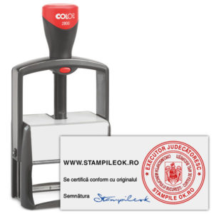 Stampila Executor Judecatoresc Profesionala Trodat 2800