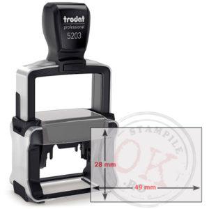 Stampila Dreptunghiulara Trodat Professional 5203