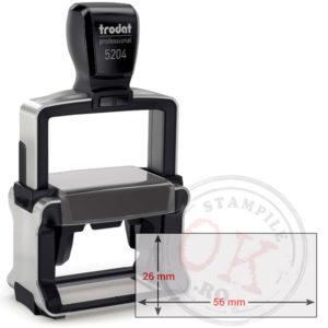 Stampila Dreptunghiulara Trodat Professional 5204