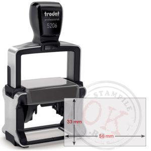 Stampila Dreptunghiulara Trodat Professional 5206