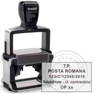 Stampila Posta Romana Trodat Professional 5206