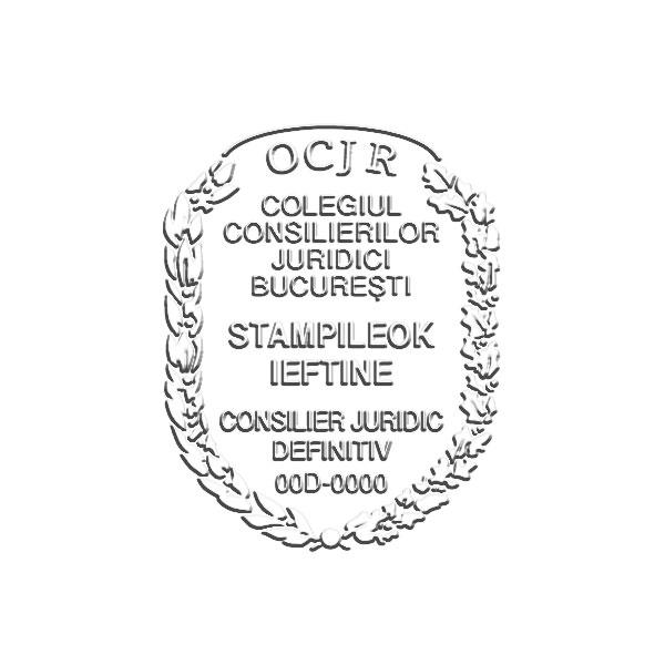 Timbru sec Consilier
