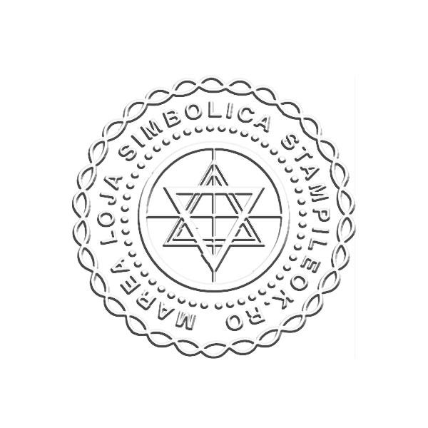 Timbru sec Masonerie
