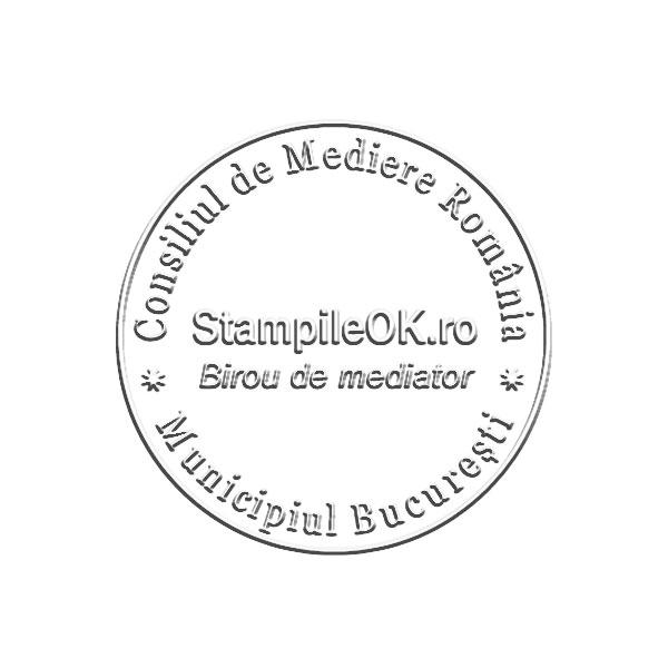 Timbru sec Mediator