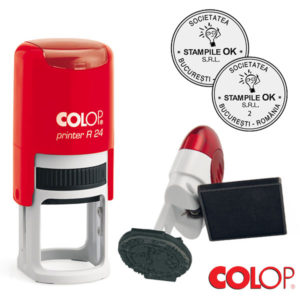 Stampile Oferta Duo Deal Colop R24 Diametru 24 mm