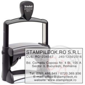 Stampila pentru firma Trodat Professional 5211