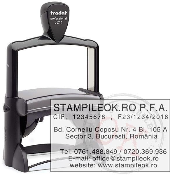 Stampila Profesionala PFA Trodat Professional 5211