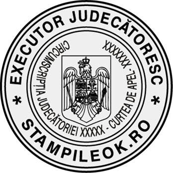 Stampila Executor Judecatoresc