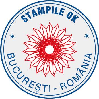 Stampila bicolora cu logo (+65 lei)