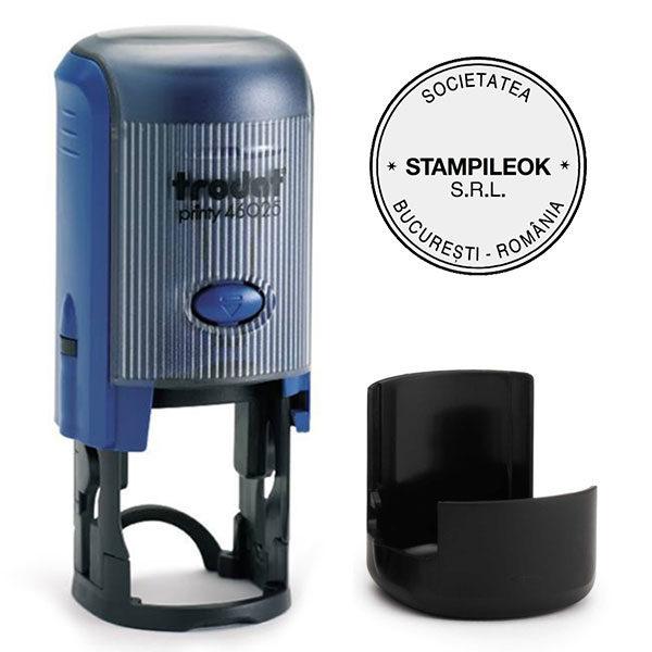 Stampila Firma Trodat Printy 46025 Diametru 25 mm