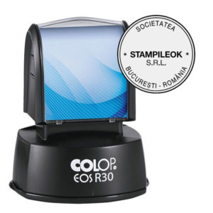 Stampila Firma Colop EOS Line R30 Diametru 30 mm