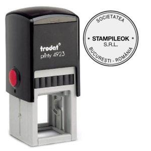 Stampila Firma Trodat Printy 4923 Diametru 30 mm