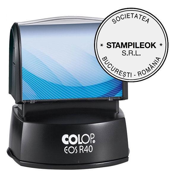 Stampila Firma Colop EOS Line R40 Diametru 40 mm