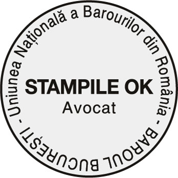 Stampila Avocat