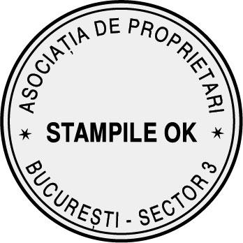 Stampila Asociatie de Proprietari