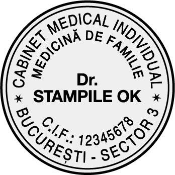 Stampila Medic