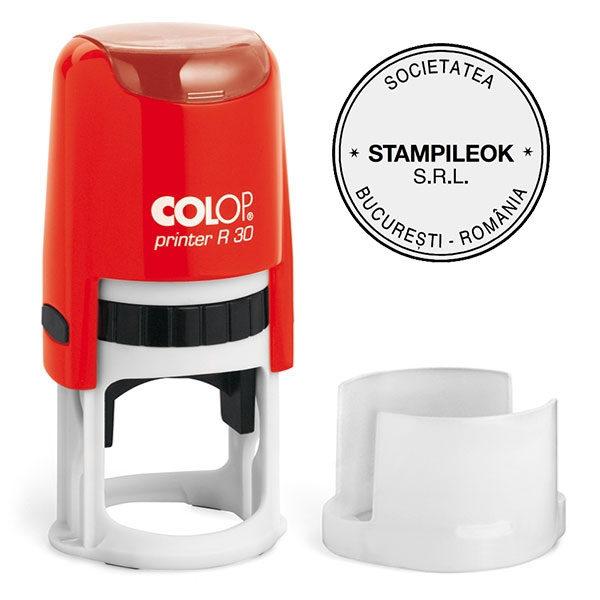 Stampila Firma Colop Printer R30 Diametru 30 mm