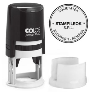 Stampila Firma Colop Printer R40 Diametru 40 mm