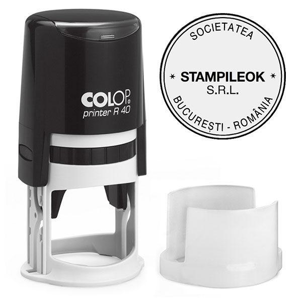 Stampila Firma Colop Printer R40 Diametru 40 mm