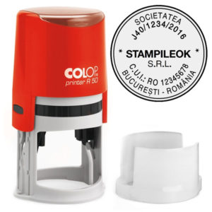 Stampila Firma Colop Printer R50 Diametru 50 mm
