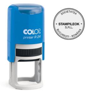 Stampila Firma Colop Printer R24 Diametru 24 mm