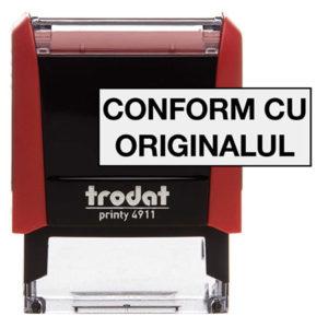 Stampile Conform cu Originalul