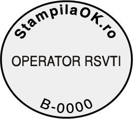 Stampila RSVTI