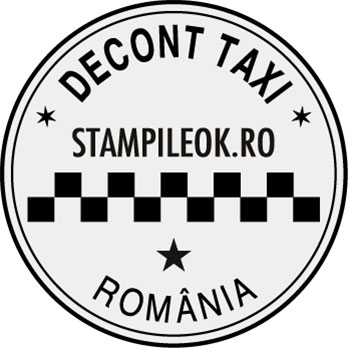 Stampila Taxi Decont