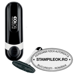 Stampile Ovale Colop Pocket Stamp Oval 30 Dimensiune: 47 x 18 mm